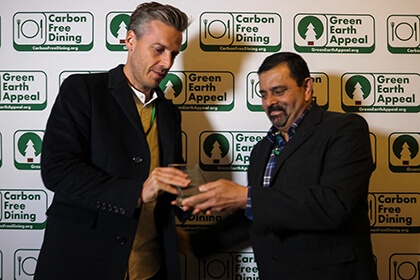 Partners Achievements Recognised At The Inaugural Carbon Free Dining Awards - Cofoco -  Carbon Free Dining