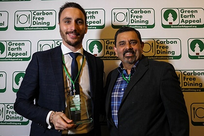 Partners Achievements Recognised At The Inaugural Carbon Free Dining Awards - Frenchie Covent Garden - Carbon Free Dining