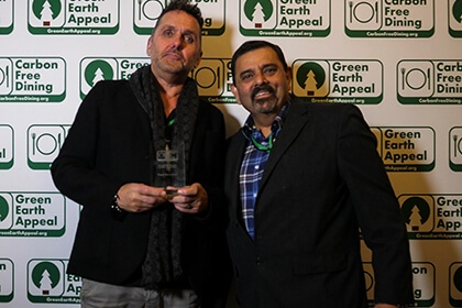 Partners Achievements Recognised At The Inaugural Carbon Free Dining Awards - Paul Newman- Carbon Free Dining