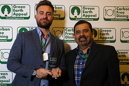 Partners Achievements Recognised At The Inaugural Carbon Free Dining Awards - Rossopomodoro uk - Carbon Free Dining