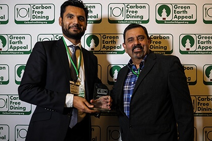 Partners Achievements Recognised At The Inaugural Carbon Free Dining Awards - Zouk - Carbon Free Dining