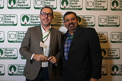 Partners Achievements Recognised At The Inaugural Carbon Free Dining Awards - Lightspeed - Carbon Free Dining