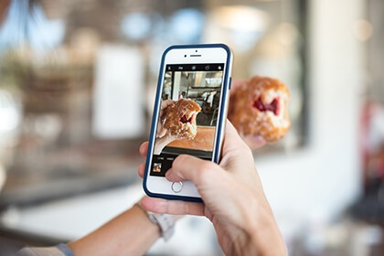 Carbon Free Dining - Hospitality Thought Leader - Why Restaurants Should Be Using Social Media - Instagram