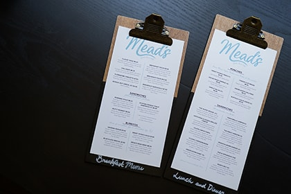 Carbon Free Dining -4 Ways To Create A Successful Menu - Keep Descriptions Simple