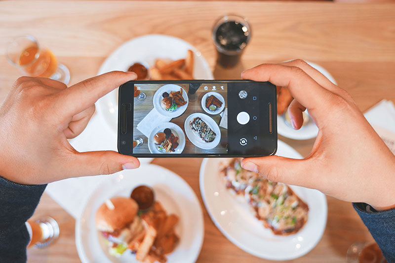 Being searchable on instagram for restaurants