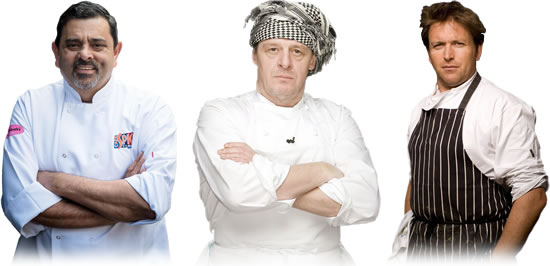Carbon Free Dining Certified Celebrity Chefs